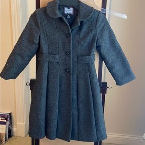 Rothschild toddlers wool dress coat. 6x